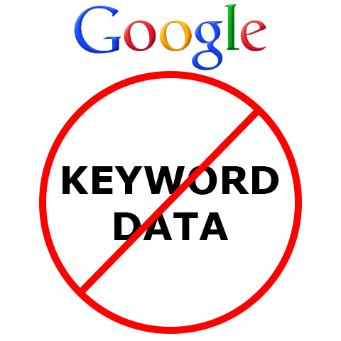 Google Says 'Goodbye Keyword Data'