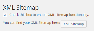 Creating an XML sitemap for search engine indexing