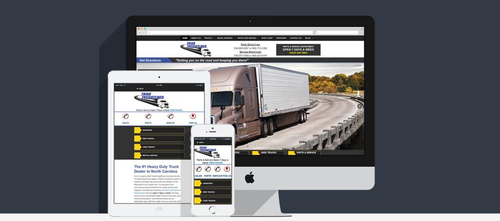 Triad Freightliner Case Study